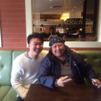 Sammo Hung At PappaRich Doncaster