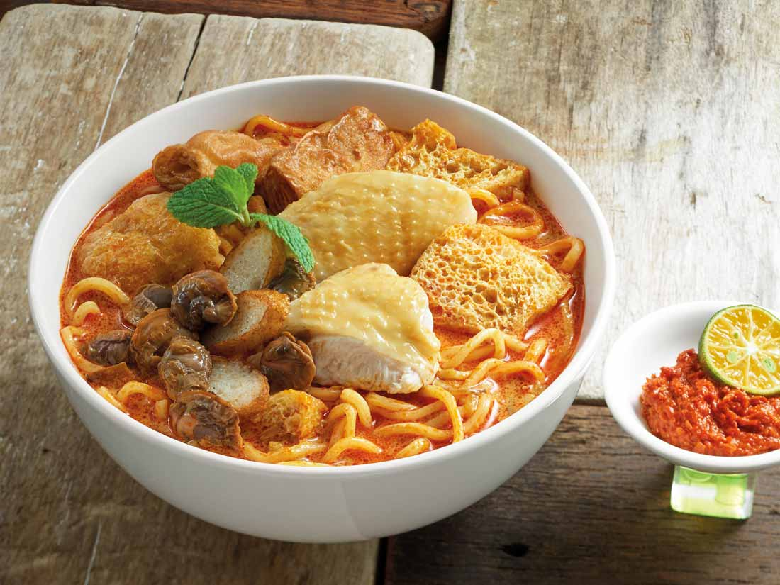 Pappa Curry Laksa Special