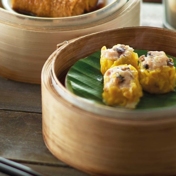 Black Pepper Chicken Siew Mai (3 pieces)
