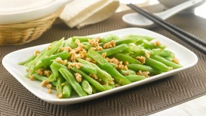 French Bean with Minced Chicken