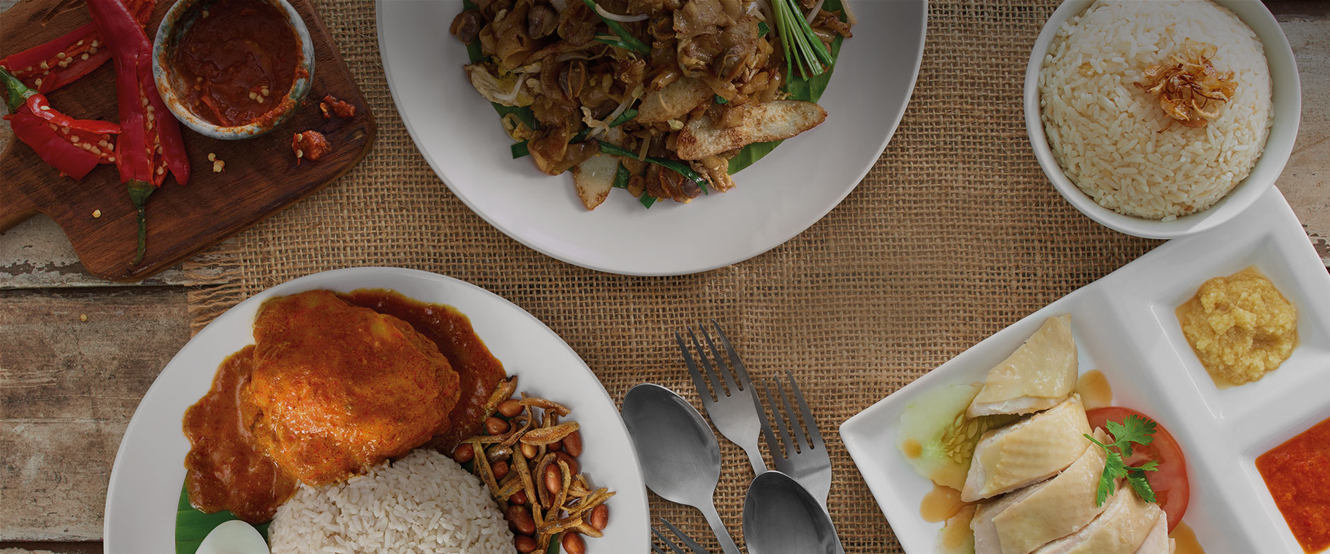 A TRULY MALAYSIAN CUISINE ANYTIME, ANYWHERE