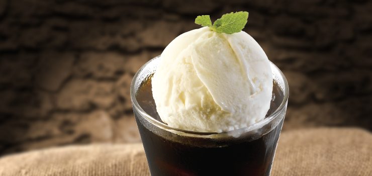 PappaRich Malaysia – Black Gold Coffee with Vanilla Ice Cream (Iced)