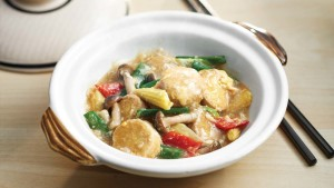Claypot Vegetable with Toufu