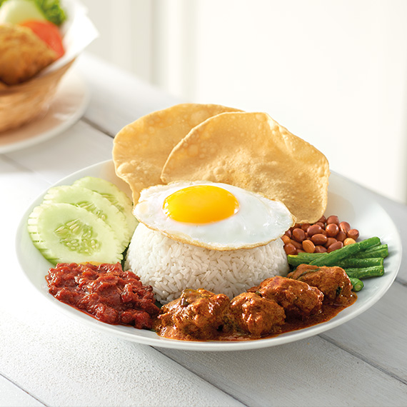 vegetarian-nasi-lemak-with-curry-mutton